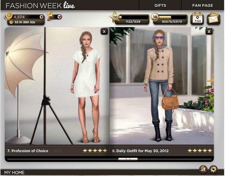 Fashion Week Live Girl Games Town