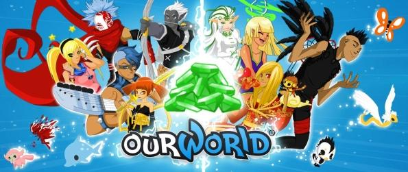 ourWorld - Create & Customize Your Character In ourWorld!