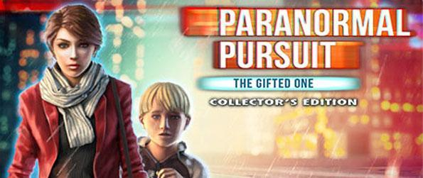 Paranormal Pursuit: The Gifted One - Help a boy with special powers escape his father in a stunning hidden object adventure.