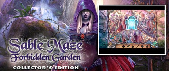 Sable Maze: Forbidden Garden - Immerse yourself in this epic hidden object experience full of thrill and mystery.
