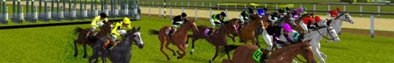 Pferde Spiele Online - Stallion Race vs Blazing Silks