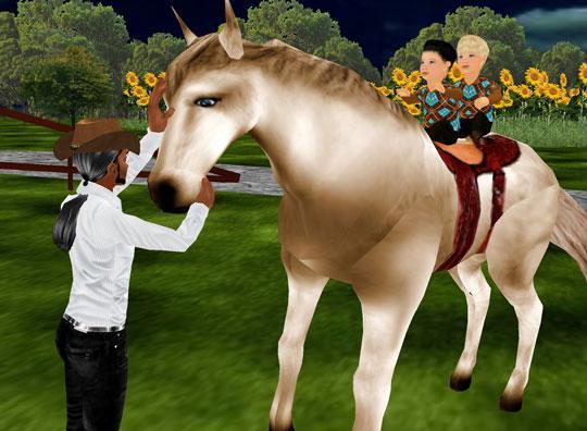 Horses in IMVU