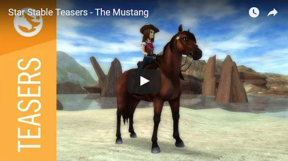 The Mustang is Coming to Star Stable!