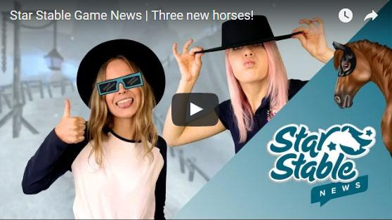 New Horse Colors and a Public Service Announcement from Star Stable