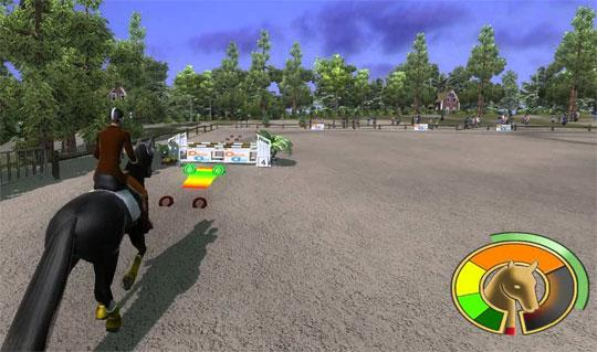 Horse Energy in Ride: Equestrian Simulation