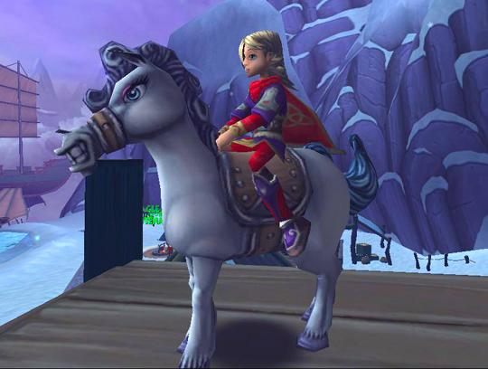 Gorgeous Horse in Wizard 101
