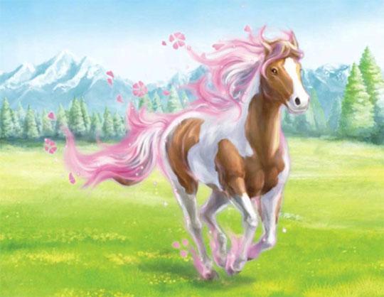 Gorgeous Rose Horse from Bella Sara