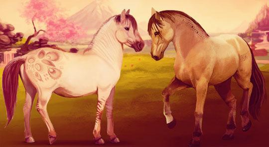 Beautiful Pairing in Howrse