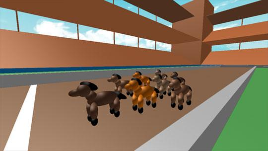 Horse Racing in Roblox