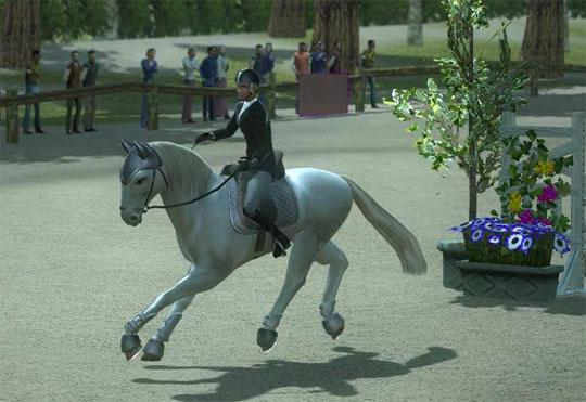Fantastic Stallion in Ride:Equestrian Simulation