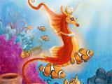 Unicorn seahorse