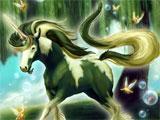 Willownix - a unicorn with a goatee