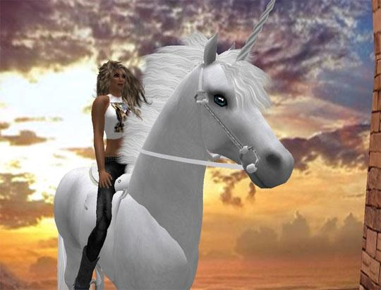 Magical Unicorn in Second Life