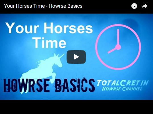 Howrse Basics: Horse Time