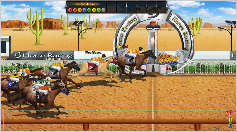 Facebook Racing Games - Play Horse Games - Free Online ...