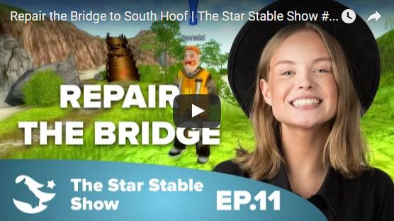 Help Donald Repair New Hillcrest's Bridge in Star Stable