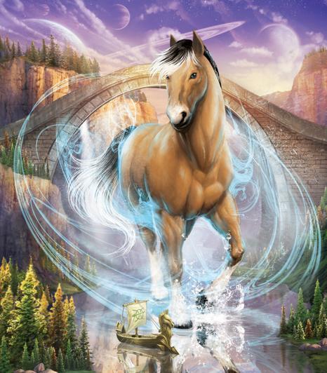 Beautiful Norwegian-Inspired Horse in Bella Sara