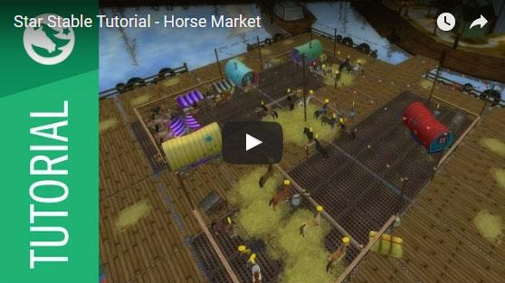 Star Stable Tutorial - Horse Market