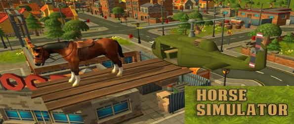 Horse Simulator - Live the life of a horse, and explore the vast world provided by Horse Simulator and interact with it.