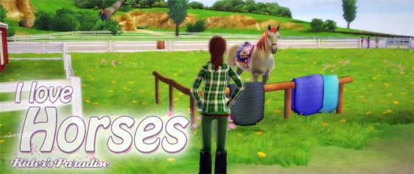 I Love Horses: Rider's Paradise - Learn to ride and win the upcoming competition to save the farm in this beautiful horse simulation game, I Love Horses: Rider's Paradise!