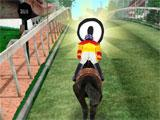 Collecting Bonuses in Champions Riding Trails 3D