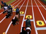 Starting the race in Horse Racing 3D 2015 Free