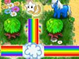 Rainbow power! in Pony Wood