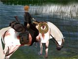 Second Life Horse Ride