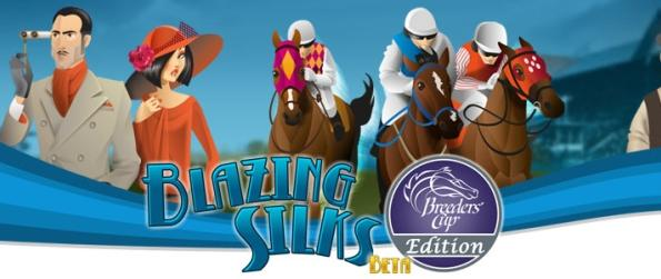 Blazing Silks - Enjoy The Complete Horse Racing Experience!