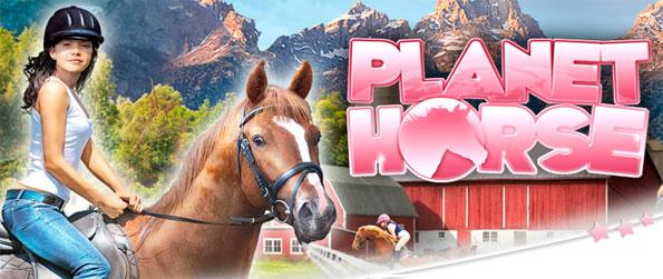 Planet Horse - Ride through fantastic 3D countrysides in this stunning horse game.