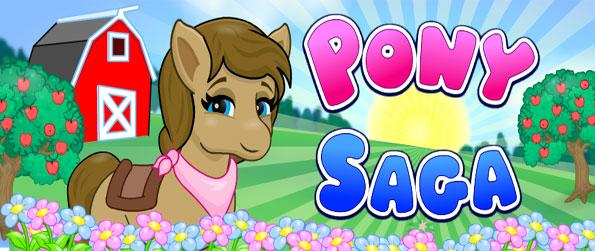 Pony Saga - Raise your cute pets in this fun free Facebook game.