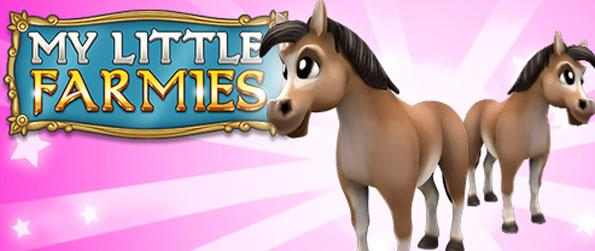 My Little Farmies - Grow crops and raise animals as you build your own amazing farm.