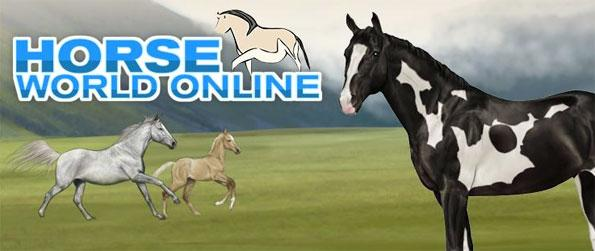 Horse World Online - Adopt your own horse from a selection of breeds and then begin to get them ready to compete and breed.