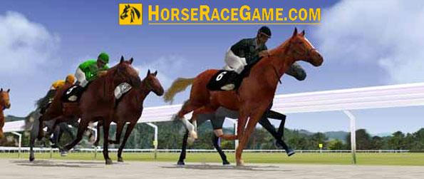 Horse Race Game - Set up a stable of champions today in Horse Race Game