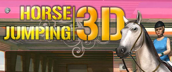 Horse Jumping 3D FB - Run through many different obstacle courses in this fun and addictive horse riding game.