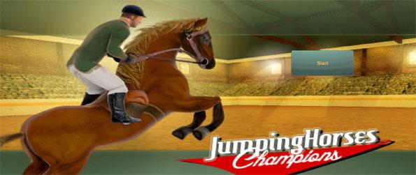 Jumping Horses Champions - Play this fun filled horse jumping game that'll make you want to play for hours upon hours every single day.