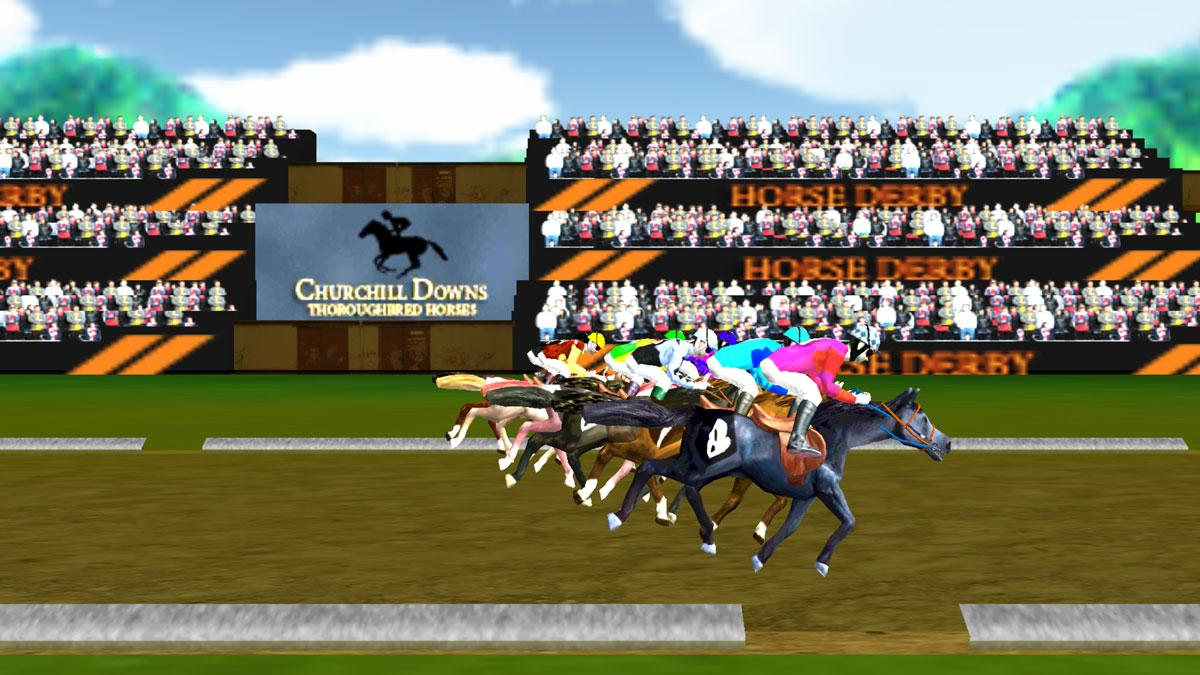 virtual horse racing games online for free