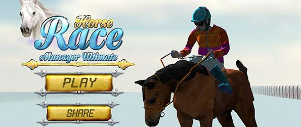 Horse Race Manager Ultimate - Get challenged from the horse races and tourneys in this wonderful horse race simulation game.