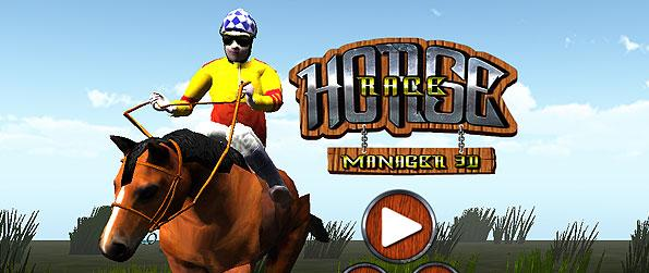 Horse Race Manager 3D - Help your horse pick up on its pace in this wonderful horse race game.