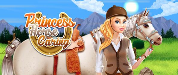 Princess Horse Caring - Groom your horse in this fun filled and addictive game that'll get you hooked.