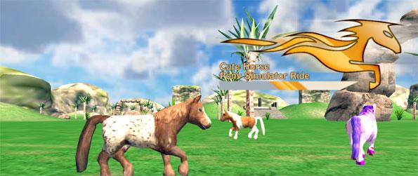 Cute Horse Pony Simulator Ride - Get yourself hooked on this highly addictive horse riding game that's full of memorable moments.