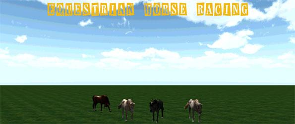 Equestrian Horse Racing - Saddle up and guide your horse through challenging rounds of horse jumping in this austere horse game, Equestrian Horse Racing.