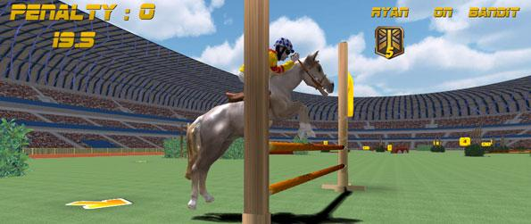 Show Jumping  - Pick your horse to tame, practice around professional race courses and be the best jockey the world has seen in Show Jumping!
