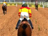Racing in Horse Racing 3D
