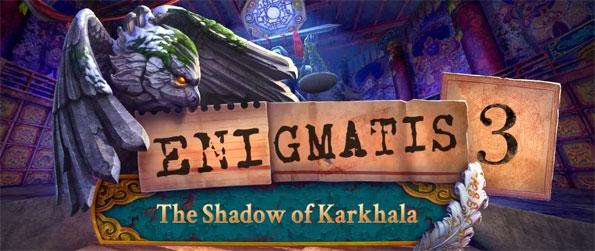 Enigmatis 3: The Shadow of Karkhala Collector's Edition - Hunt down a serial killer by looking for clues and discovering his plans in this hidden object adventure.