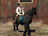 Texas Wild Horse Race 3D Rider Selection