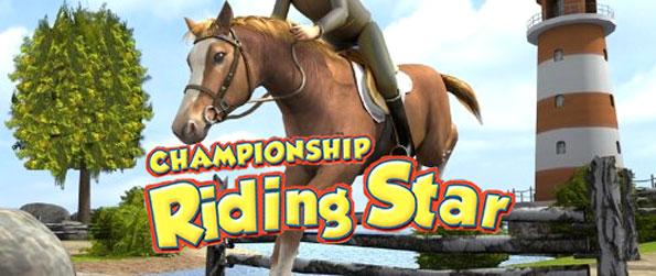 Championship Riding Star - Create and customize your avatar and your virtual horse and participate in a variety of fun competitive riding events in Championship Riding Star!
