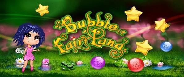 Bubble Fairyland - Ayude a la derrota de la hada de la bruja malvada en este increíble juego Bubble Shooter.