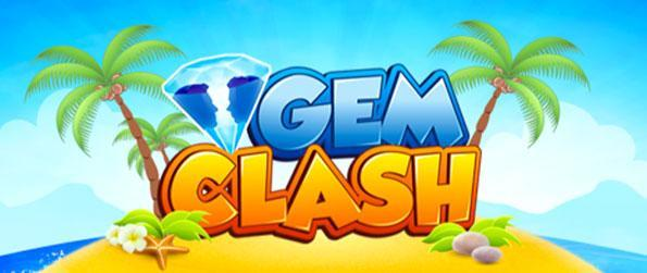 Gem Clash - Combina gemas juntos en este rápido juego de Facebook.