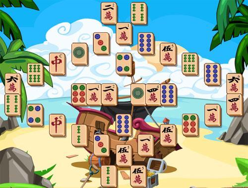 Enjoy Mahjong Pirates